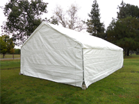 large canopy tent to rent includes table chairs round or rectangular free delivery included in the valley