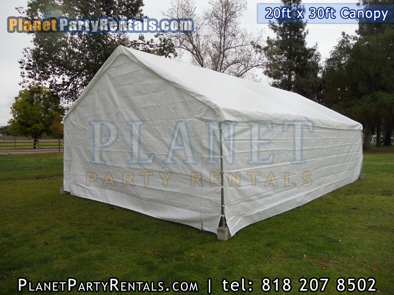 20ft x 30ft party tent for rent. Party tent package available with tables and chairs. San Fernando Valley Tent Rentals