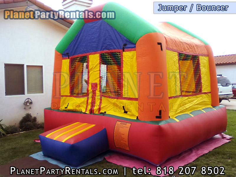 Jumper rentals available for rent in the valley if you need an affordable bouncer jumper for rent view our prices and packages | You can also jumper bouncer packages which includes tables and chairs