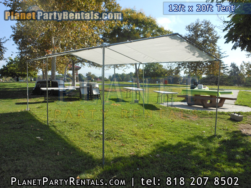 Party Tent Rental 12feet By 20feet Prices And Packages San