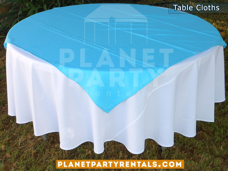 Round Table Cloths for Tables | Linen Rentals San Fernando Valley