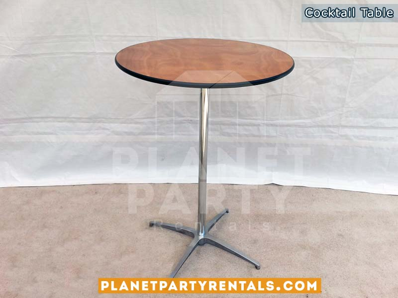 "Tall Round cocktail table 30"" Round and 42"" Tall"