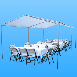 cheap canopy rentals in the valley we have 10feet x 20 feet 10feet x 30feet 20feet x 30feet canopy party tents for rent available in the san fernando valley free delivery on all canopy and party tents
