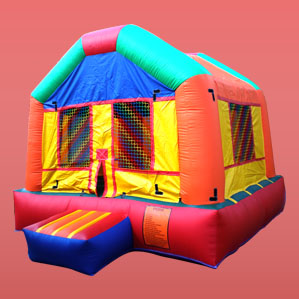 fun house jumper bouncer at cheap prices affordable prices and packages available with tables and chairs rent them today free delivery for packages setup included